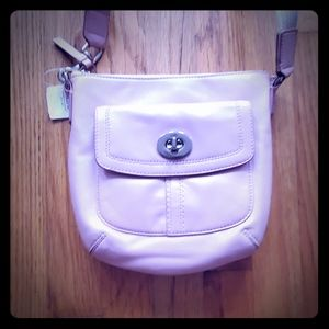 Coach Crossbody Pink bag